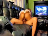 MILF Rides Me On The Sofa