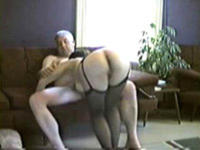 Mature couple being nasty