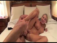 Milf is doing anal sex here