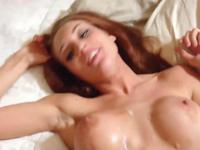 Wild POV pussy slamming on the bed