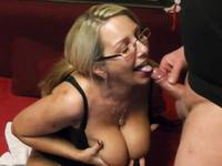 Busty milf has a lot of fun