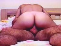 Big ass woman sits on a cock