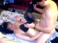 Sexy lady is fucked on the bed