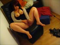 MILF with big tits bored alone