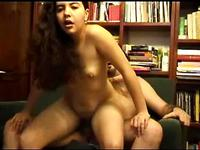 Lovely Annet loves to ride