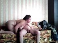 Russian couple on video