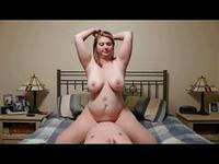BBW amateur babe with large tits