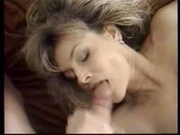 So pretty blonde milf wife suck cock with lustful passion when parents leave