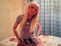 Simply outstanding girl performs on webcam