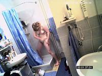 Hidden cam in the bathroom