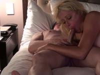 So pretty mature blonde wife suck cock and take a fuck ride sunday night,damn