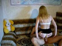Blondie cheating on her hubby
