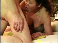 Pretty japanese milf wife suck cock in a video and share in web,enjoy